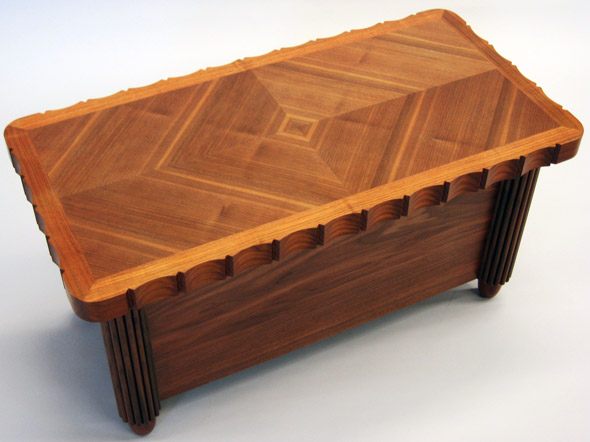 walnut table for Supreme Court of Canada